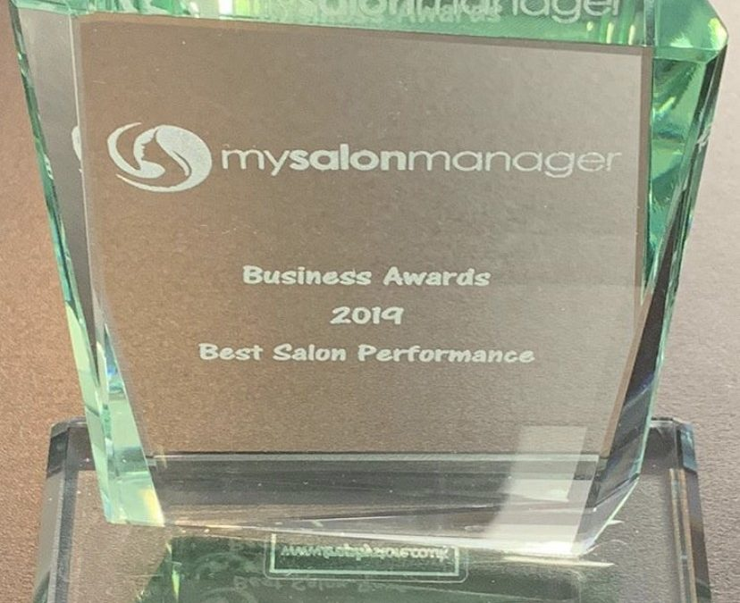 RudHair wins MySalonManager Business Award